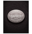 Emblem design for Barbershop vector image vector image