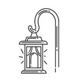 gardening lamp icon hand drawn icon outline black vector image