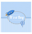 it is a boy vector image