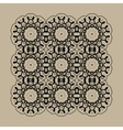 Mandala Print Retro Ornate Mandala Wallpaper for vector image vector image