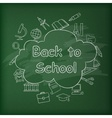 School blackboard Green vector image vector image