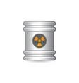 steel barrel vector image