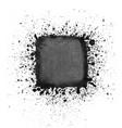 watercolor square splashes vector image