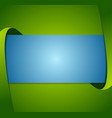 abstract green and blue corporate background vector image vector image