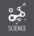 Abstract logo for science and technology vector image