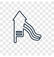 childhood concept linear icon isolated on vector image