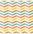 colourful 3d chevron seamless pattern background vector image vector image