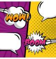 pop art comic vector image vector image