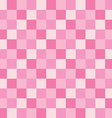 popular pink valentine love color tone checker vector image vector image