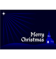religional merry christmas background vector image