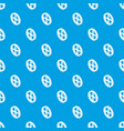 roof window frame pattern seamless blue vector image vector image