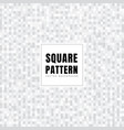 abstract white and gray squares pattern vector image