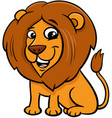 happy lion animal character cartoon