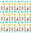 scandinavian pattern seamless ethnic pattern vector image