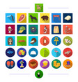 Animals textiles sports and other web icon in