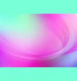 curved abstract colorful background vector image vector image