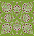 floral seamless fabric pattern flourish tiled vector image vector image