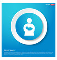 mother with baby icons vector image