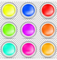 paint different colors vector image vector image