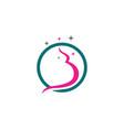 pregnant logo template icon vector image vector image