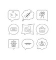 puzzle guitar music and theater masks icons vector image vector image