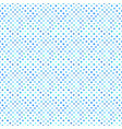 seamless abstract light blue circle pattern vector image vector image
