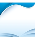 wave water background icon vector image