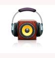 sound loud speaker vector image