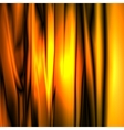 Abstract glow gold strip background vector image