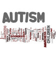 autism the mystery text background word cloud