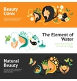 Beauty Banner Set vector image