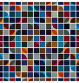 Bright geometric background squared abstract vector image