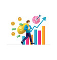 business concepts for investment vector image