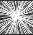 comic monochrome explosive background vector image