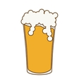 glass beer icon image design vector image vector image