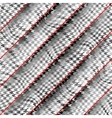 Houndstooth background pattern vector image vector image