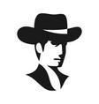 logo-cowboy-2 vector image vector image
