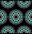 mandala bohemian dot painting pattern vector image