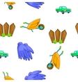 Ranch pattern cartoon style vector image vector image