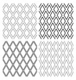 seamless diamonds patterns vector image vector image
