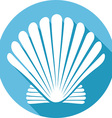Seashell Icon vector image vector image