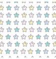 shiny stars art background design vector image vector image