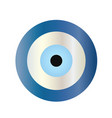 traditional blue evil eye vector image vector image