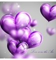 Valentines Day or wedding background vector image vector image
