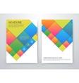 Brochure Flyer design vector image