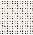 Seamless Black And White Triangles Halftone vector image