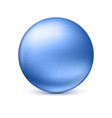 Sphere isolated on white vector image