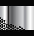 polished plate vector image