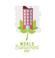 world environment day vector image