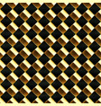 gold mosaic seamless pattern vector image